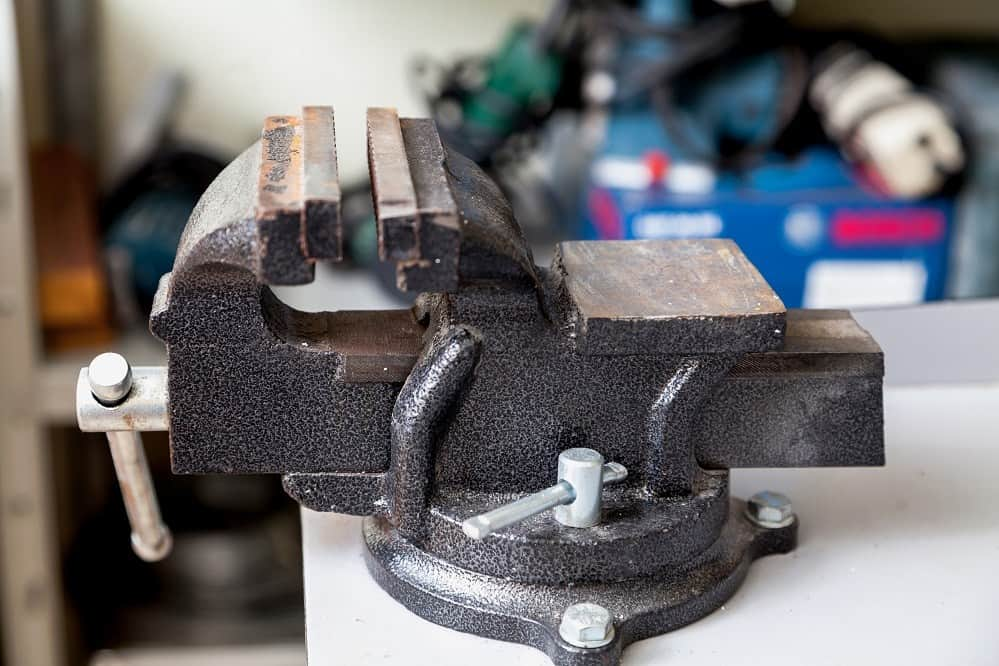 How to Bolt Down a Bench Vise in Different Ways